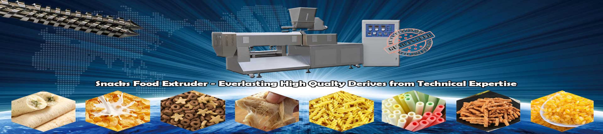 Food Extruder Machine