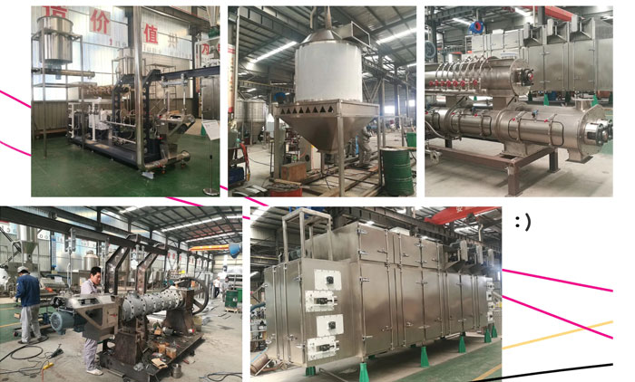 3 Ton Pet Food Processing Line