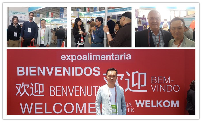 Dragons Machine Attended Expoalimentaria Peru 2018