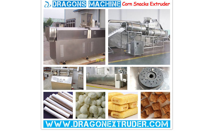 Salient Characteristics Of Snacks Extrusion Machine