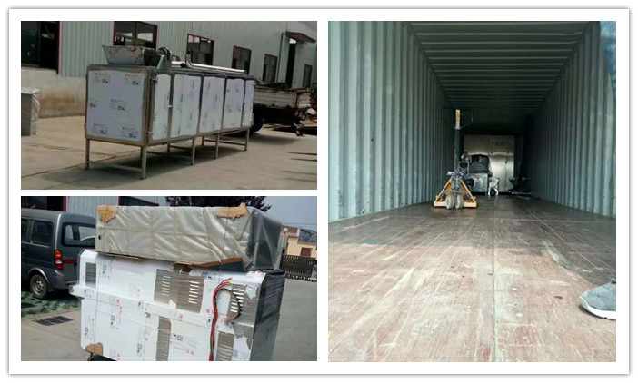Puff Snacks Processing Line Delivery to Indonesia