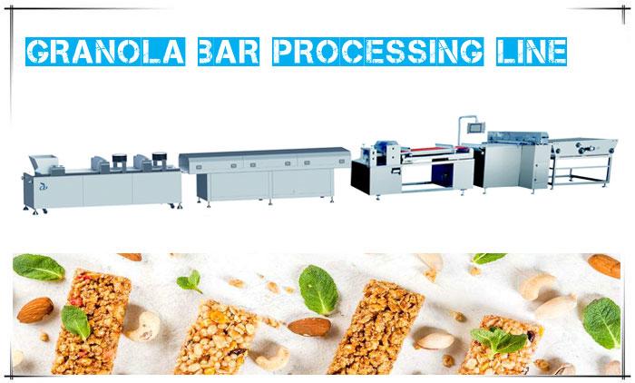 Installing Granola Bar Processing Line