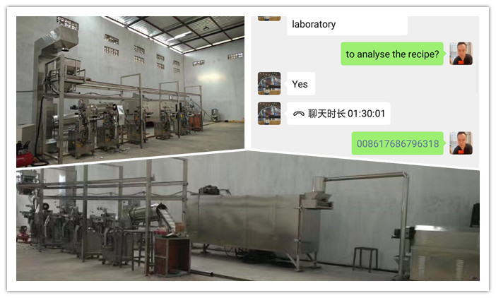Puff Snacks Extrusion Line