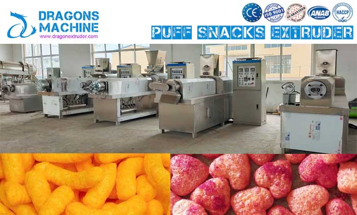 Extruded Snacks Machine