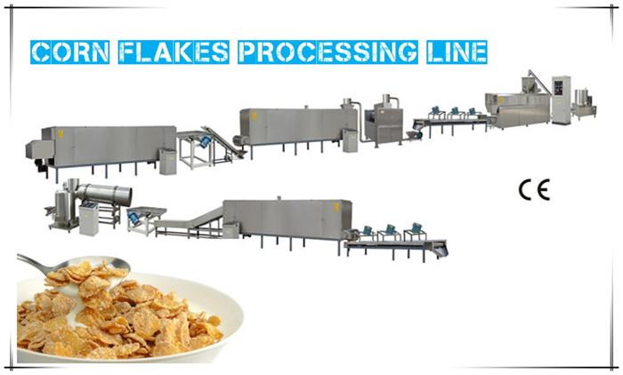 Corn Flakes Processing Line