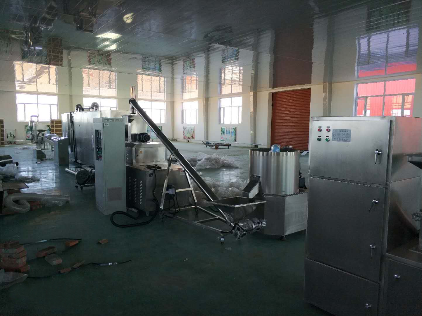 A Successful Installation of Nutrition Powder Machine