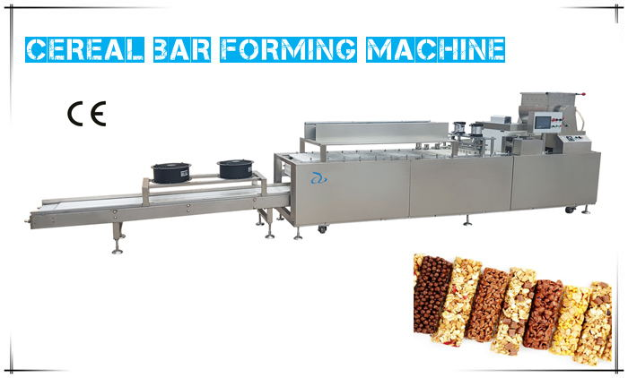 Installation of Cereal Bar Machine