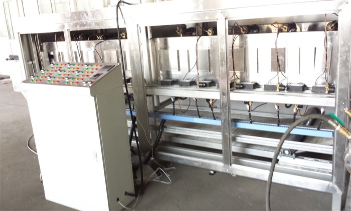 Corn Flakes Machine is being Manufactured