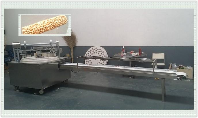 Snacks Bar Forming Machine To Make Bird Seed Bar