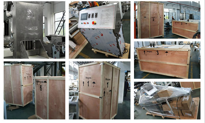 Oatmeal Chocolate Forming Machine is Ready for Delivery