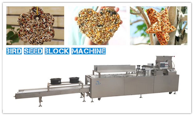 Bird Seed Block Machin