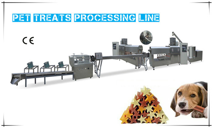 Do you know the production process of Pet Treats Processing Line?