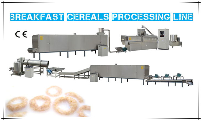 Do you know the advantages of Breakfast Cereals Processing Line?