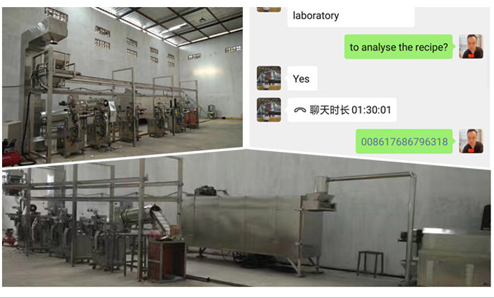 E-commissioning of Puff Snacks Extrusion Line by Video Chat