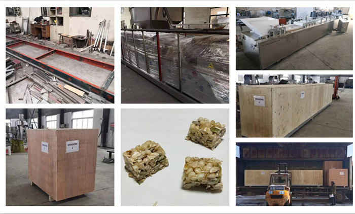 Muesli Bar Cutting Machine is Delivered to Australia