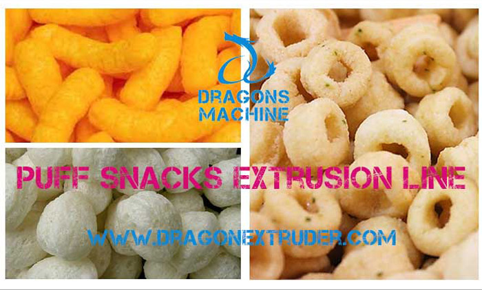 Completion of Puff Snacks Extrusion Line