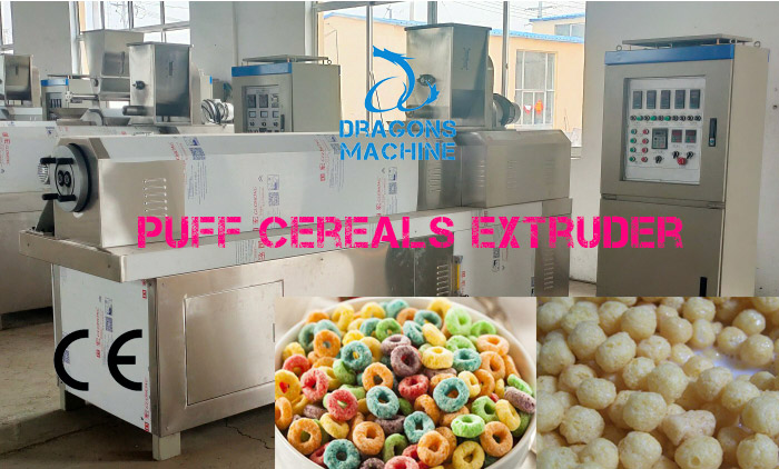 Trial Running of Puff Cereals Extrusion Line