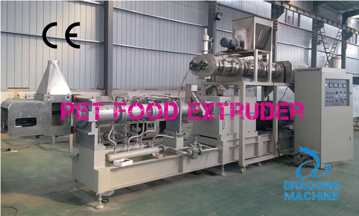 Pet Food Extruder Reached Customer's Workshop
