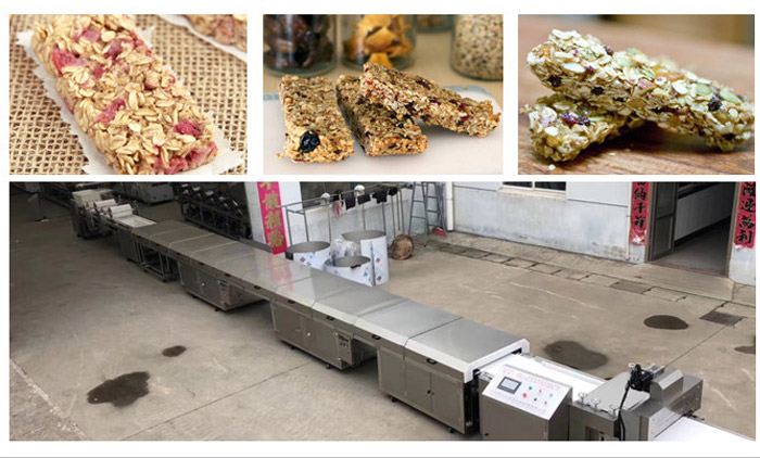 The Procedures of Granola Bar Production Line