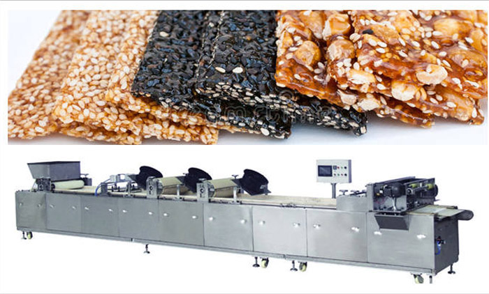 How Delicious Sesame Brittle is Made?