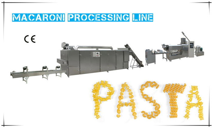 Macaroni Extrusion Production Line is Ready