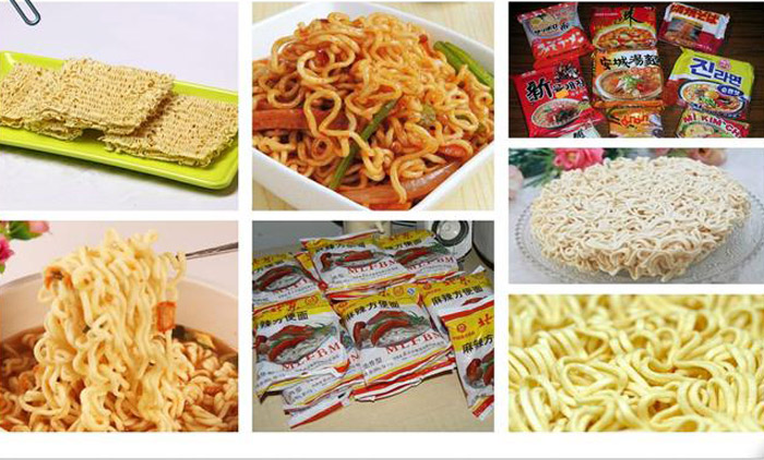 What is the Production Process of Fried Instant Noodles?